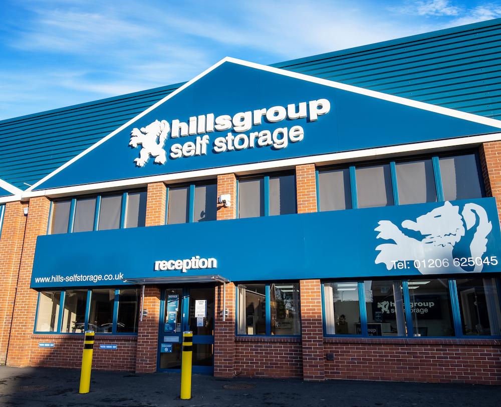 self storage facility in colchester